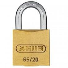 Abus 65/20 Brass Padlock