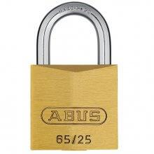 Abus 65/25 Brass Padlock
