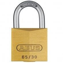 Abus 65/30 Brass Padlock