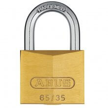 Abus 65/35 Brass Padlock