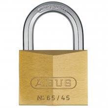 Abus 65/45 Brass Padlock