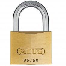 Abus 65/50 Brass Padlock