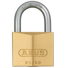 Abus 65/60 Brass Padlock