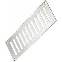 165 x 89mm Plain Slotted Vent Aluminium PR6761