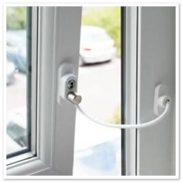 View Penkid White Window & Door Restrictor