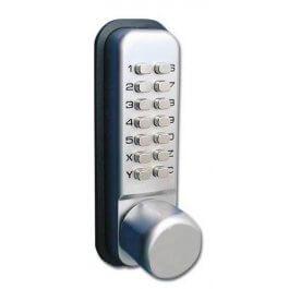 View Simplex LD451 Knob Digital Door Lock With Holdback