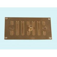 152 x 76mm Hit & Miss Vent Polished Brass HD5311