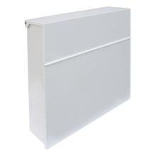 Arregui Plate Mailbox White