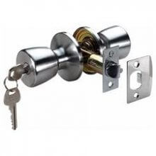 Era 166-51 S.Chrome Entrance Door Knob Set