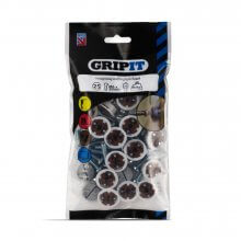 Gripit Brown 20mm Plasterboard Fixing Pack of 25