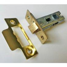 Gridlock 51.01 Brassed 63mm Tubular Mortice Latch