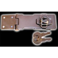 368Sp 76Mm Locking Hasp & Staples Chrome