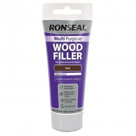View Ronseal Multi Purpose Wood Filler 100G Tube Dark (Walnut)