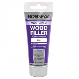 View Ronseal Multi Purpose Wood Filler 100G Tube White (Painted Finish)