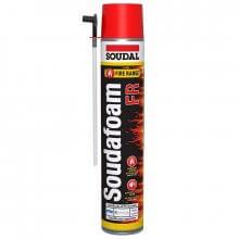Soudafoam 4hr Fire Rated Expanding Foam Aerosol 750ml BS476 Part 20