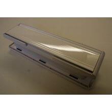 Mila Master 110452W White/White Frame 265Mm X 70Mm Combination Letter Plate