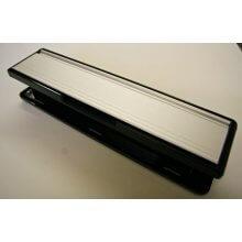 Mila Grand Contoura 110685W Silver/Black Frame Letter Plate 295Mm X 66Mm