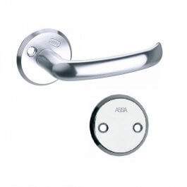 View Assa 20A Classic Accessory Set Satin Chrome