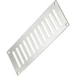 View 242 x 89mm Plain Slotted Vent Aluminium PR6762