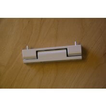 H115Whf White Upvc Flat Door Hinge (Single Hinge)