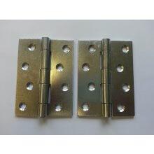 451 102mm Zinc Plated Steel Strong Door Hinge