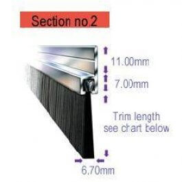 View Fs2/15 15Mm Brush Draught Excluder 3M Length Saa Carrier