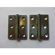 899 76mm Zinc Plated Steel Double Pressed Door Hinge