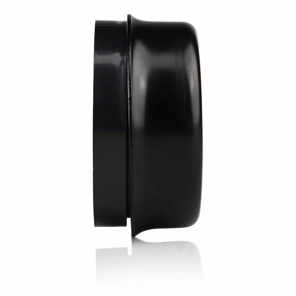 Byron 1210 Wired Wall Mounted Underdome Bell Black
