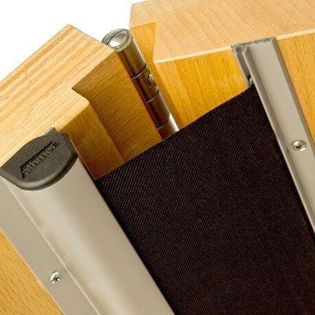 Fp200 Finger Protector Roller Blind Aluminium Finger