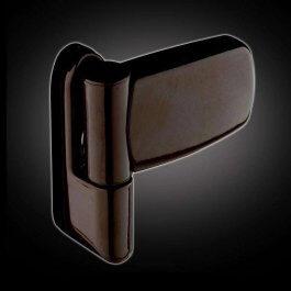 View Avocet Standard Triad SET3D Flag PVC Door Hinge Brown 95mm