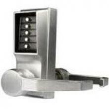 Unican Lr1011-26D Satin Chrome Right Hand Lever Handle Digital Door Lock