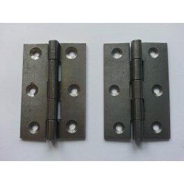 View 1838 63mm Self Colour Steel Door Hinge