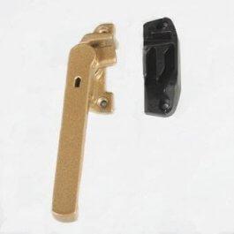 View Shaw SH2600 Champagne Left Hand Locking Fastener & Keep