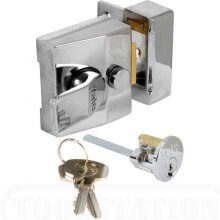 Yale 85 Deadlocking Nightlatch Narrow Style Chrome
