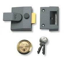 Yale 85 Deadlocking Nightlatch Narrow Style DMG/PB