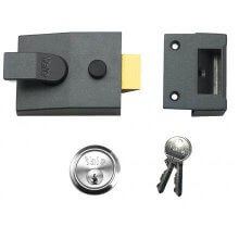 Yale 89 Deadlocking Nightlatch DMG/SC