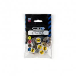 View Gripit Yellow 15mm Plasterboard Fixing Pack of 8