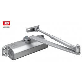 View Union CE3F Silver Door Closer