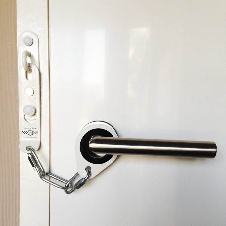 Secure Ring Door Security Chain White - Security Chains - Security ...