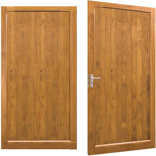 Woodrite Barnham side hinged timber garage door
