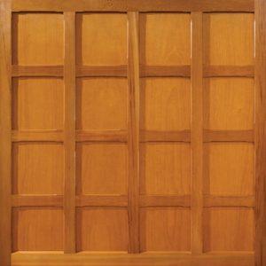 Woodrite Appley timber up and over garage door