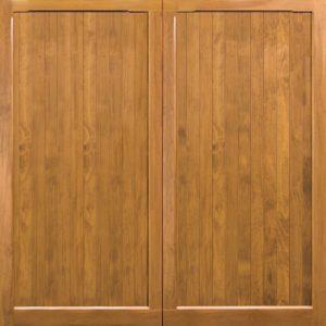 Woodrite Barnham up and over timber garage door