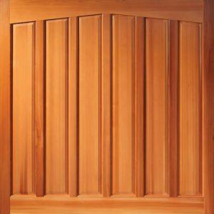 Woodrite Adstock up and over timber garage door