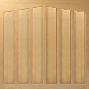 Woodrite Alcester up and over timber garage door