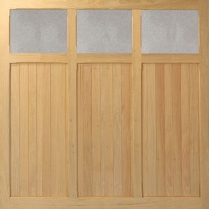 Woodrite Aston up and over timber garage door