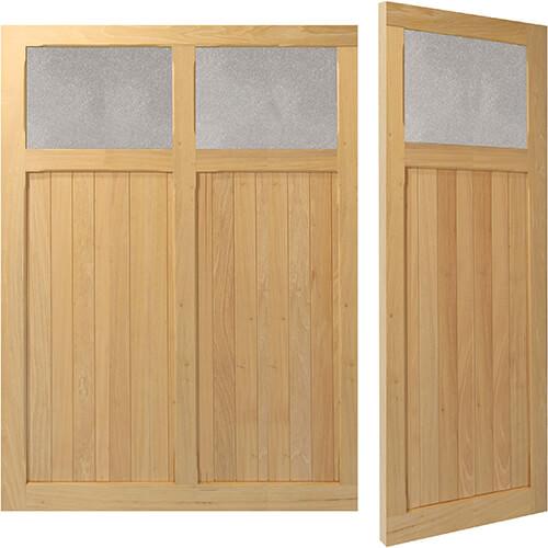 Woodrite Aston side hinged timber garage door