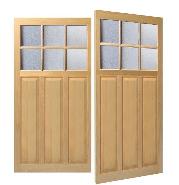 Woodrite Bentley side hinged timber garage door