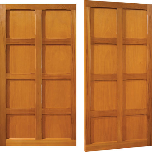 Woodrite Appley side hinged timber garage door