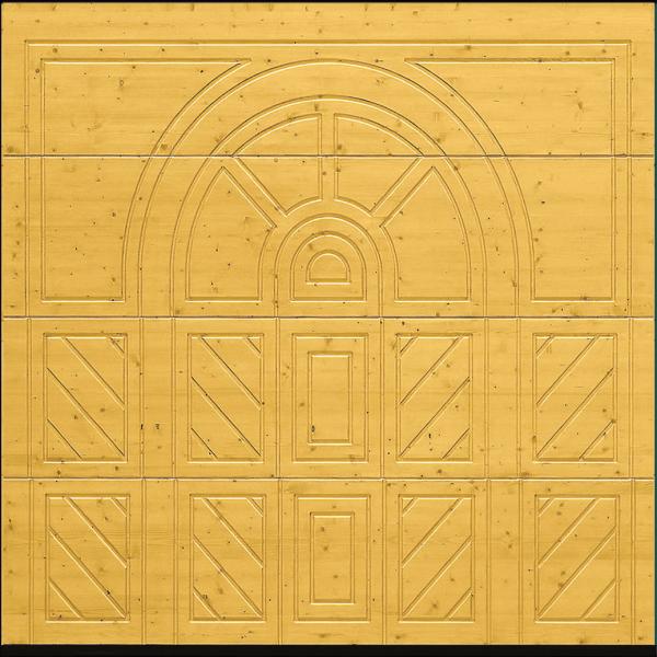 Hormann 404 Nordic Pine timber sectional garage door